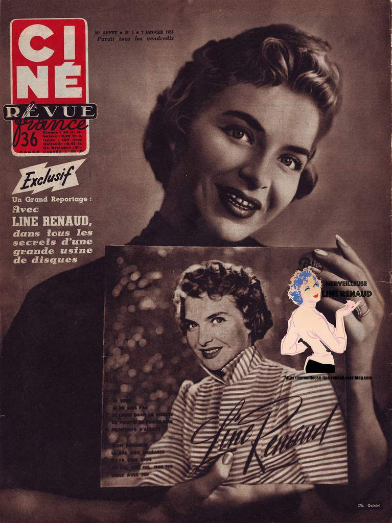 PRESSE: CINE REVUE - 35e Année n°1 - 1955