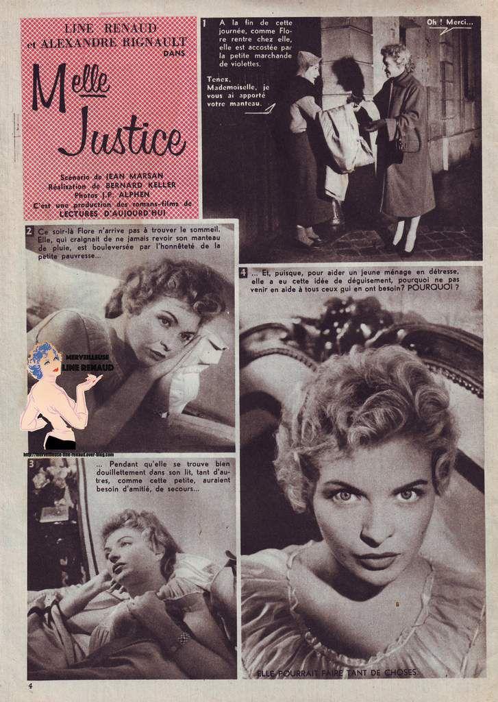 ROMAN-PHOTO: Lectures d'Aujourd'hui n°188  7 AVRIL1956 - Melle Justice
