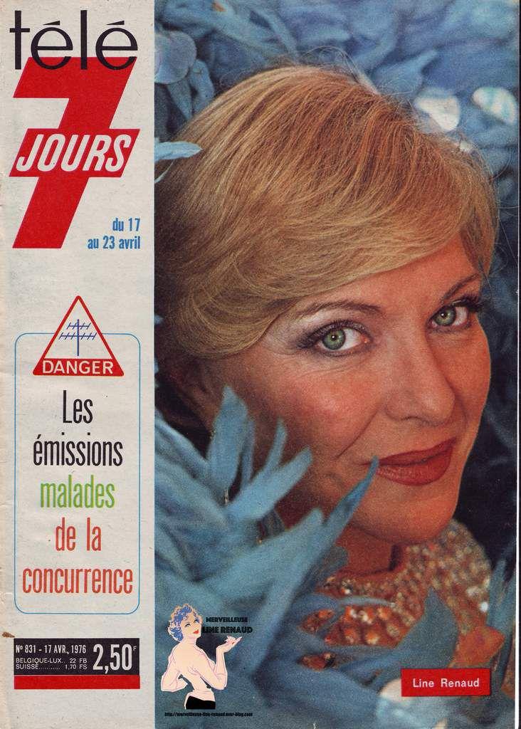 PRESSE: Télé 7 Jours n° 831 du 17/04/1976