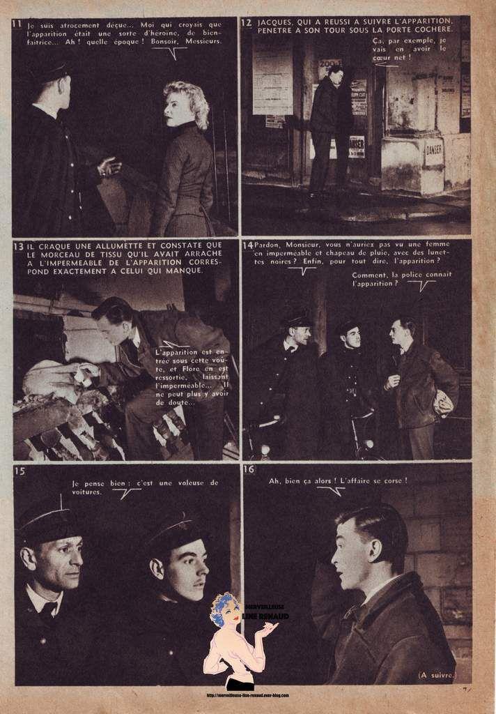 ROMAN-PHOTO: Lectures d'Aujourd'hui n°193 12 MAI 1956 - Melle Justice