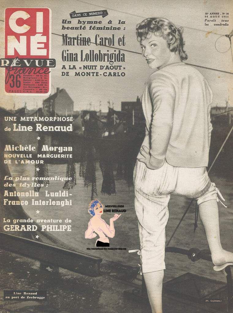 PRESSE: Cine Tele Revue N° 34 Du 26/08/1955