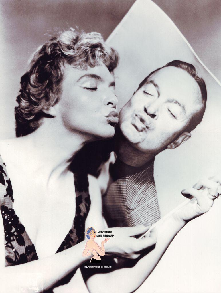 PHOTOS: Line Renaud et Bob Hope 1955