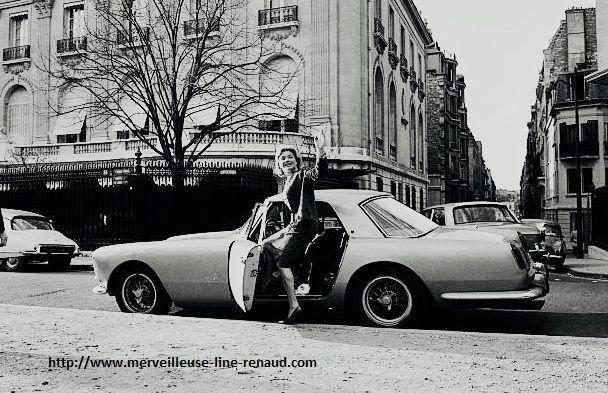 PHOTOS: Line Renaud à Paris 1963