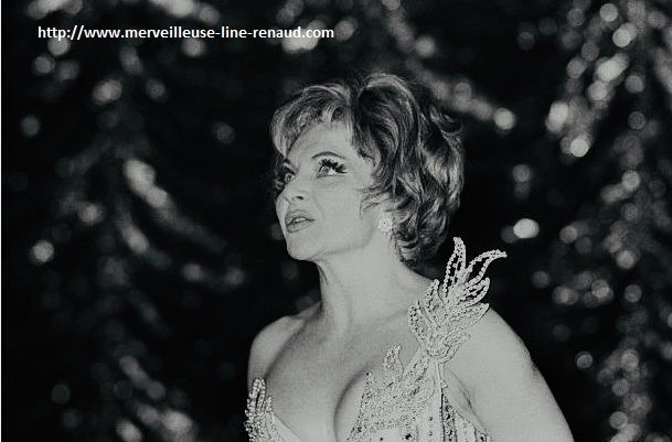 PHOTOS: Line Renaud au Casino de Paris 1966