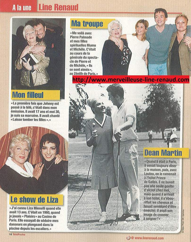PRESSE: Télé Poche n°2203 - 2008