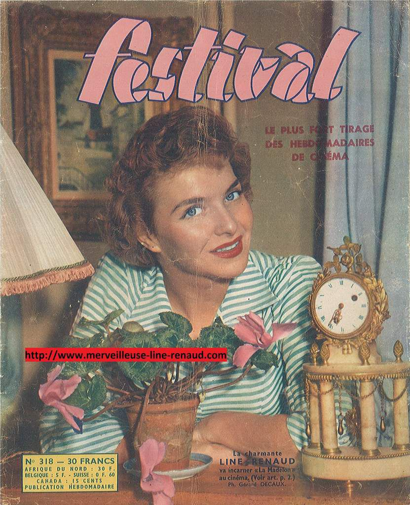 PRESSE: Festival n°318 1955