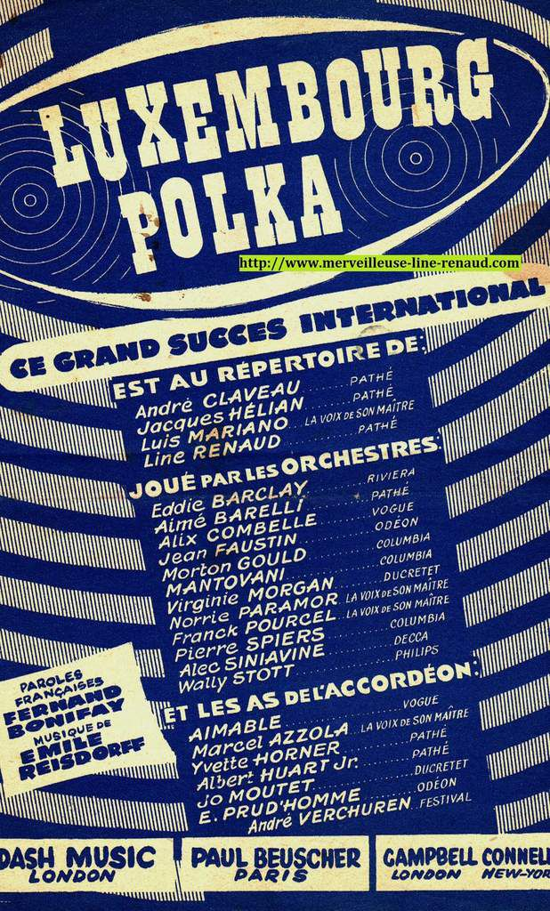 PARTITIONS: Luxembourg Polka
