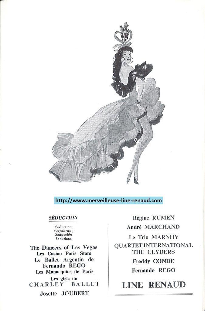 DOCUMENTS: Programme de Plaisirs 1959