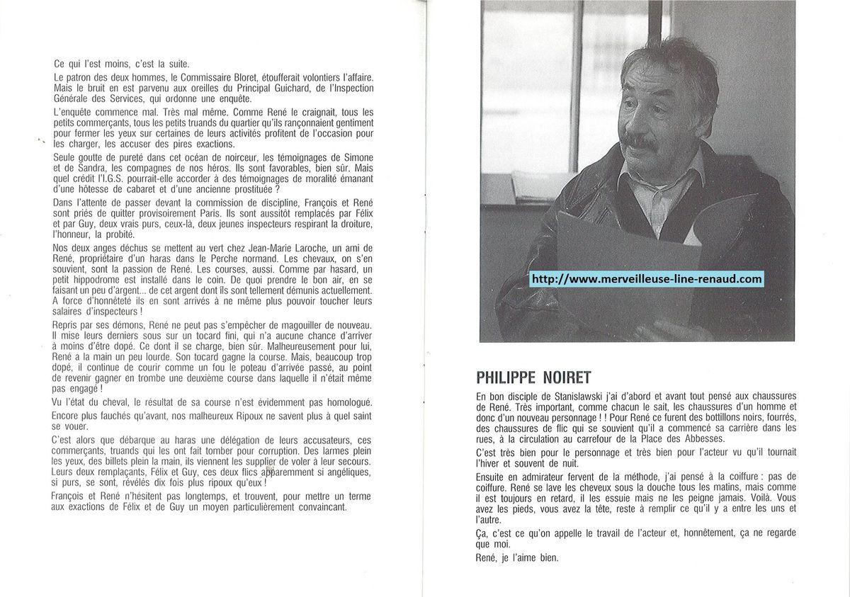 DOCUMENTS: Dossier de Presse Ripoux contre Ripoux