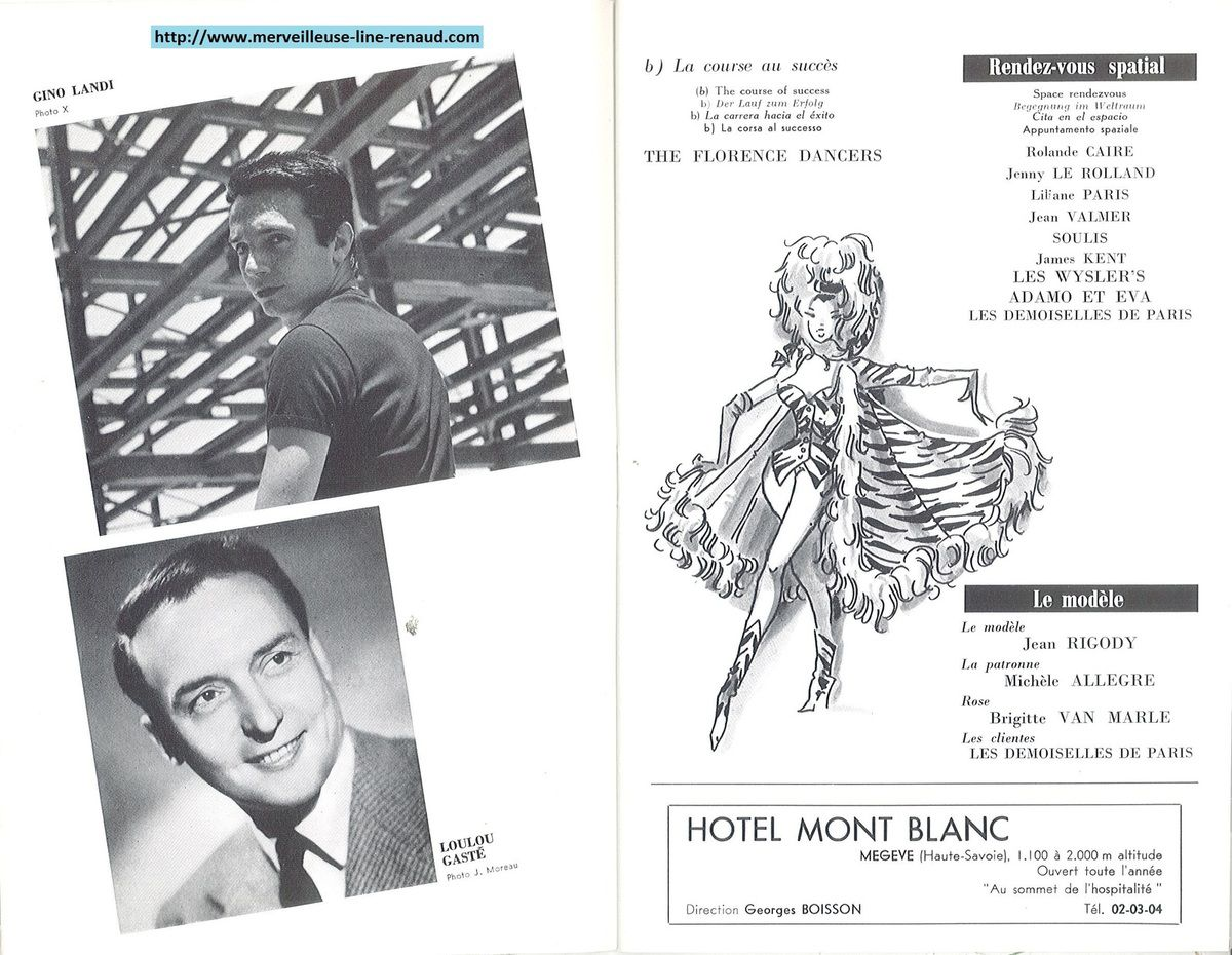 DOCUMENTS: Programme Désire de Paris 1966