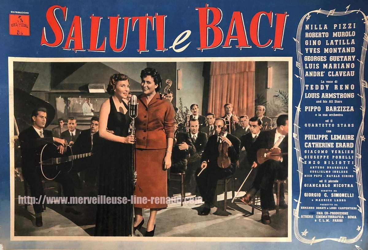 PHOTOS: Promo Italienne du film « La Route du Bonheur » 1953