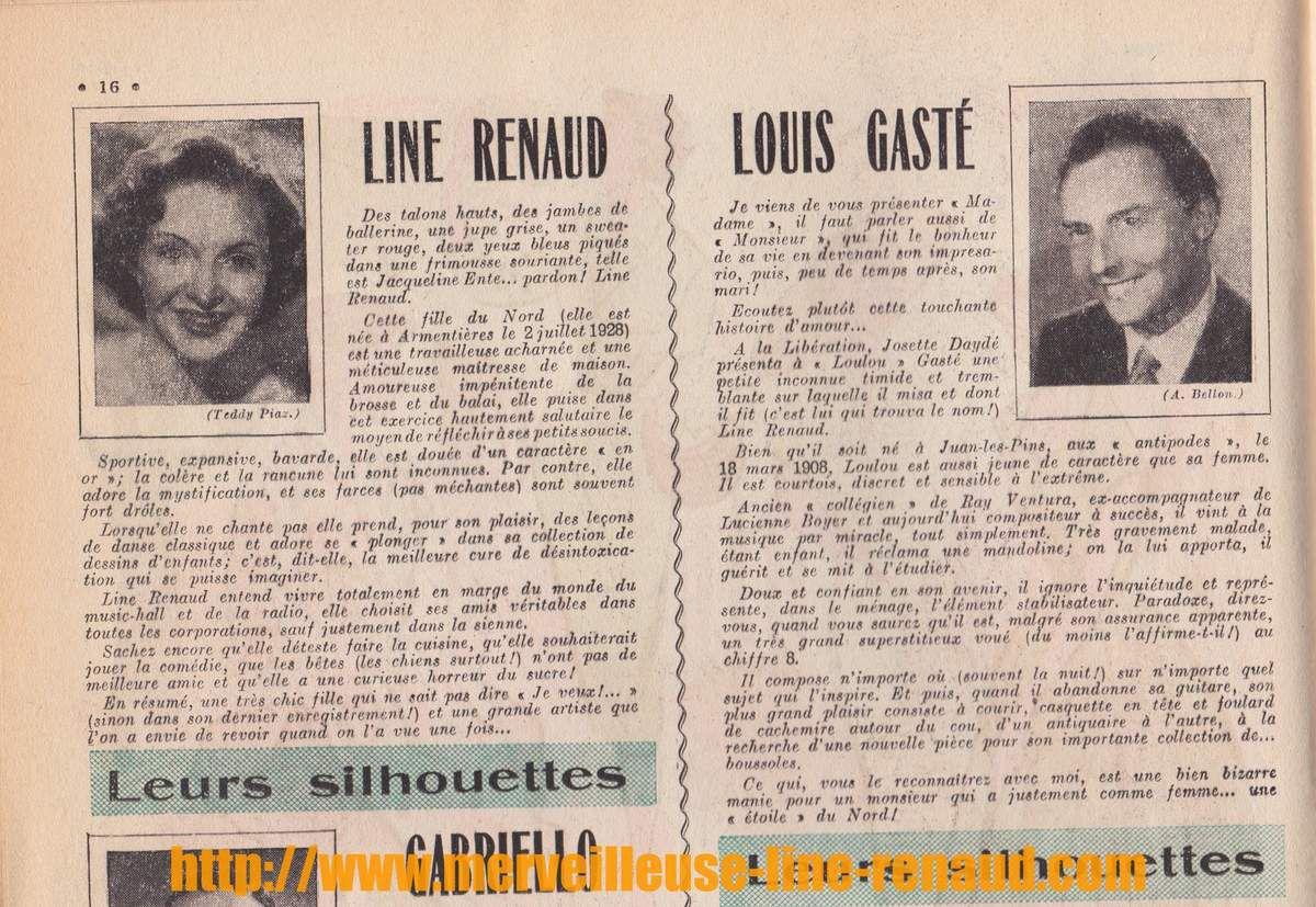 PRESSE: Le Petit Echo de la Mode - N°21 - 23 mai 1954