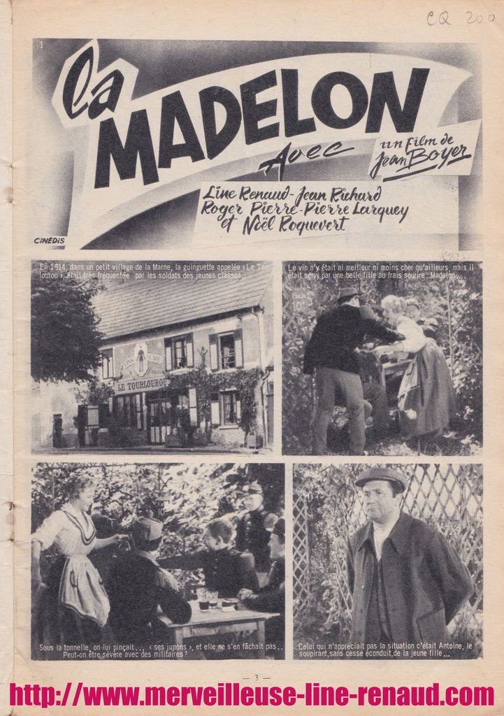 PRESSE: Ciné-Flash - La Madelon n°3 - 1963