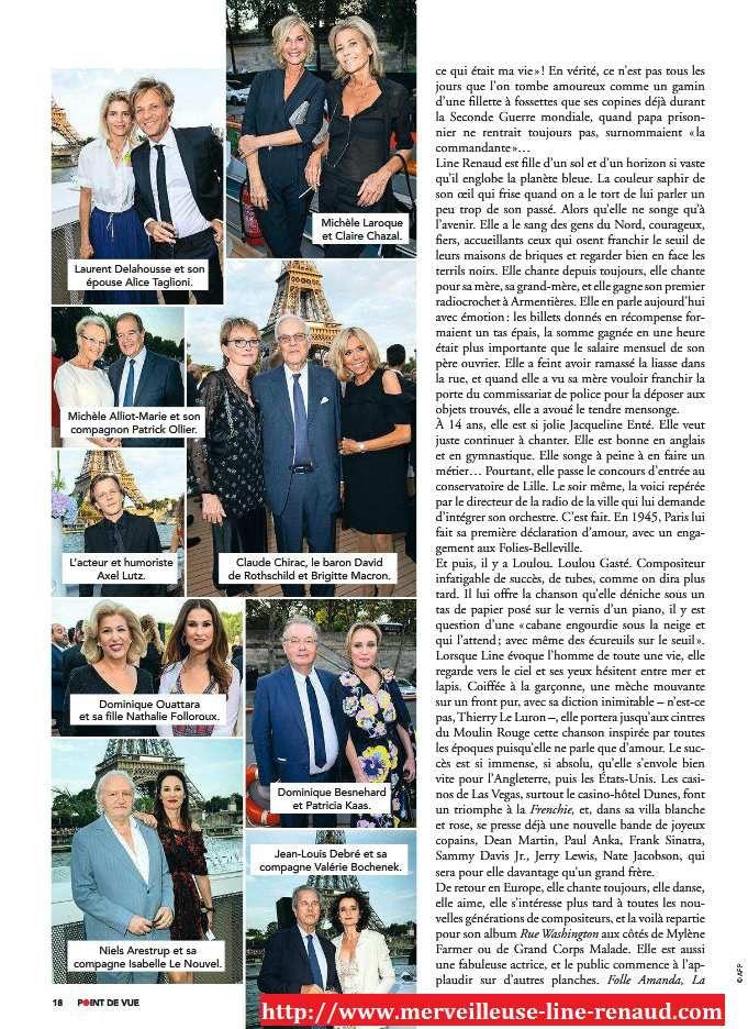 PRESSE: Point de Vue  n°3651 - 11/07/2018