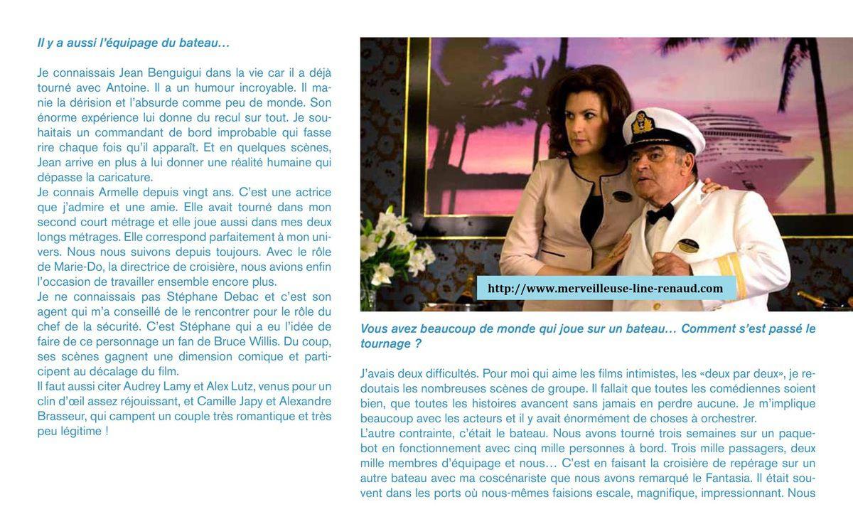 DOCUMENTS: Dossier de Presse La Croisière