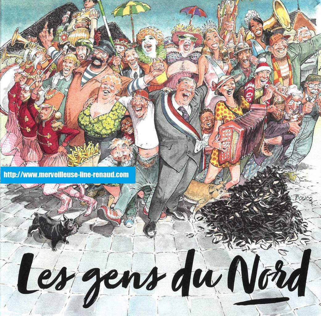 CD: 2018 le Ch'ti fonds -Sony Music - 19075874872  - Les Gens du Nord