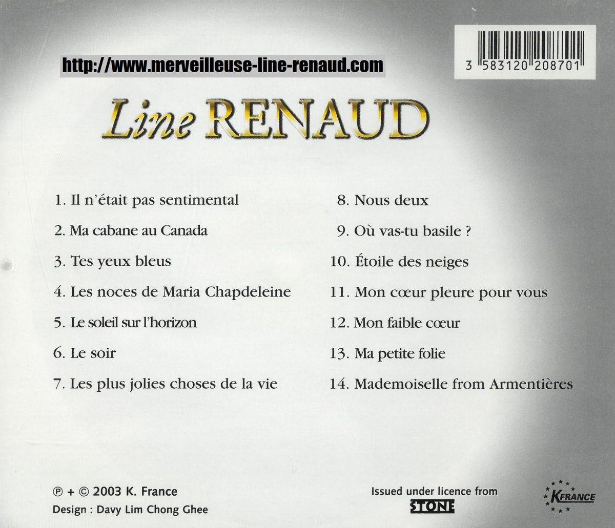 CD: 2003 France - K France CD - 3583120208701 Chansons Passion
