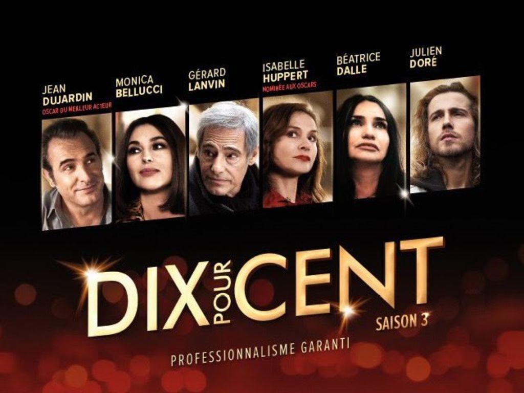 """PROGRAMME TV: La 3esaison de """"Dix pour cent"""" débutera le 14 novembre 2018"""