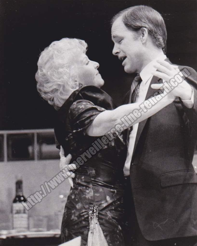 PHOTOS: Line Renaud & Robert Pine  dans The incomparable Loulou Line Renaud & Robert Pine en 1984