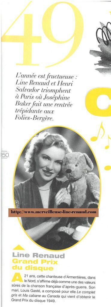 LIVRES: Les Années-Mémoire 1949