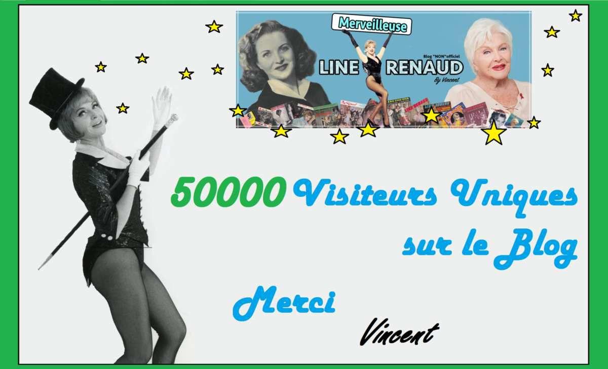 INFO BLOG: 50000 Visiteurs Uniques sur le Blog Merci