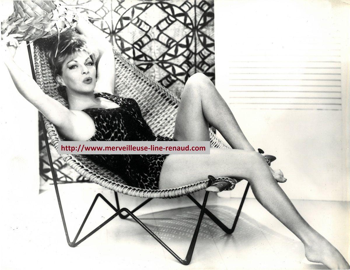 PHOTOS: Line Renaud 1967