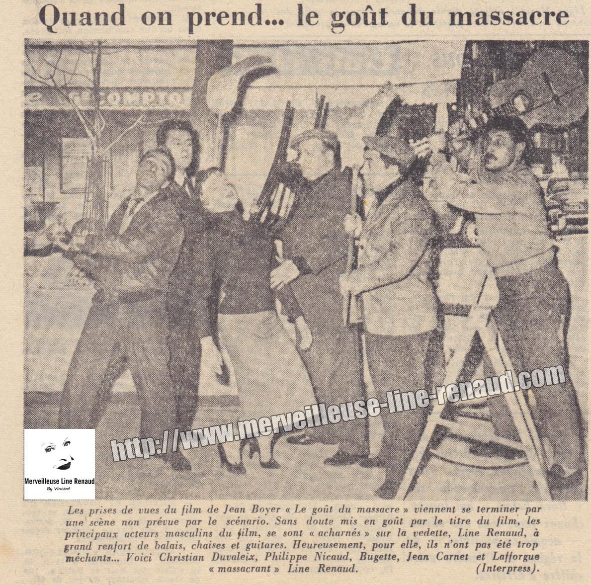 PRESSE: Quand on prend... le goût du Massacre -1957