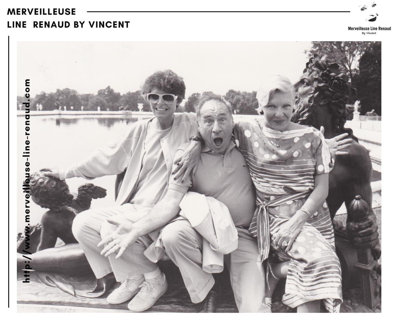 PHOTOS: Line Renaud, Mel Brooks et Anne Bancroft