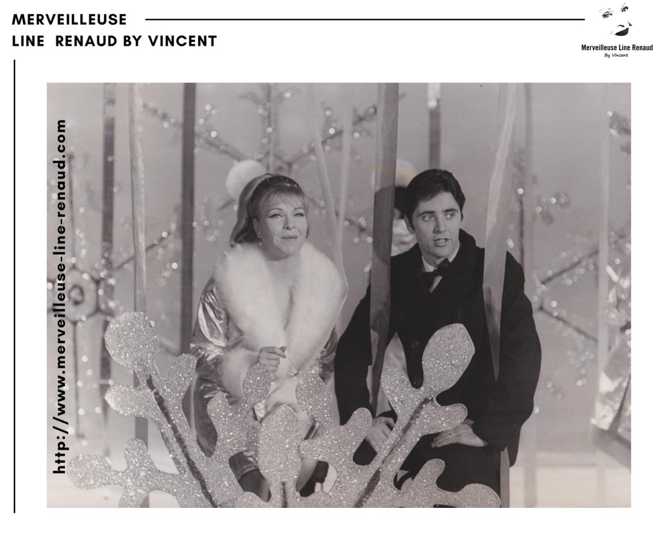 PHOTOS: Line Renaud et Sacha Distel dans le «Sacha Show»