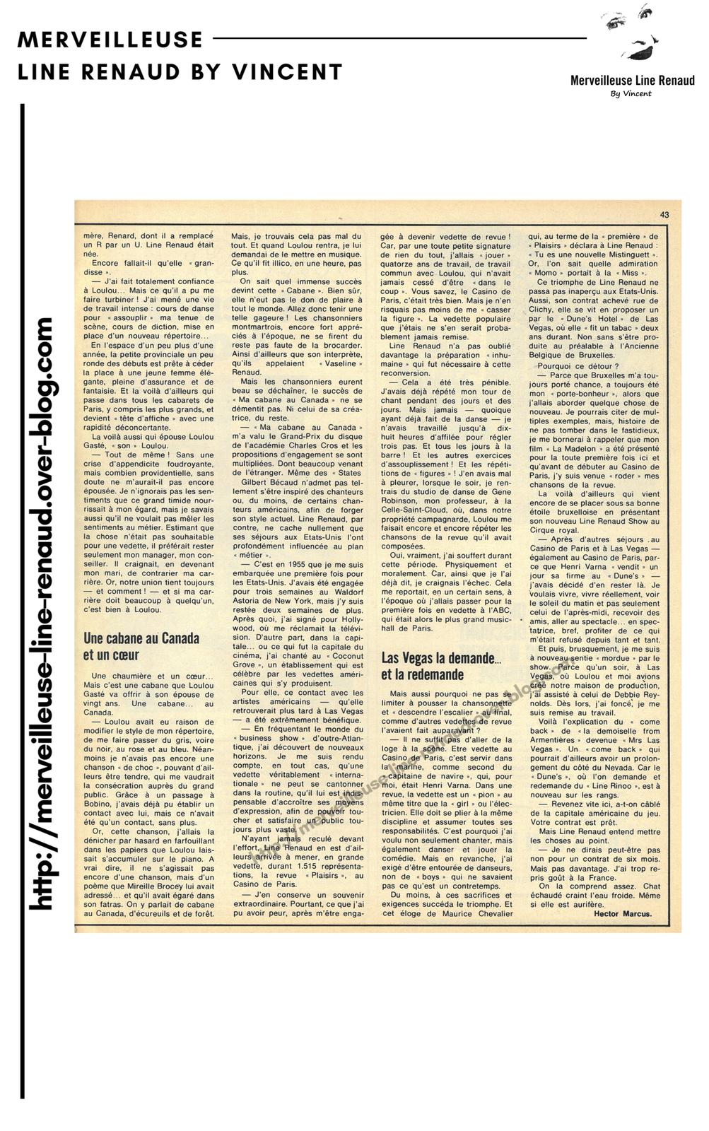 PRESSE: Le soir illustrée -n°2233 - 6 avril 1975