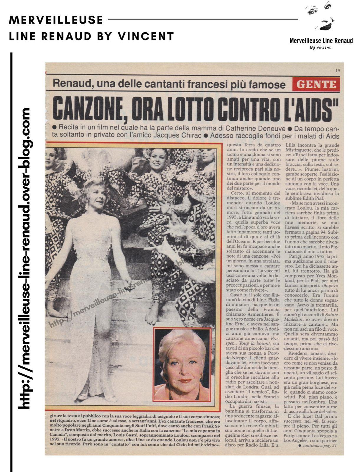 PRESSE: GENTE - n°3 - 16 janvier 1999