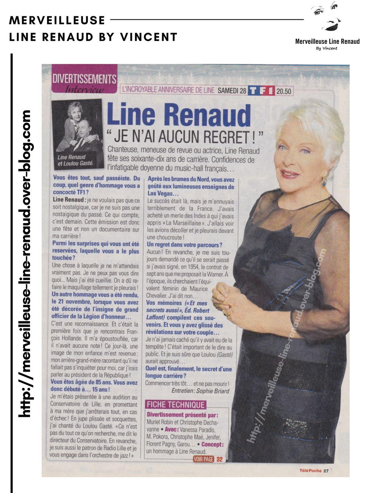 PRESSE: Télé Poche - n°2498 - 28 décembre 2013
