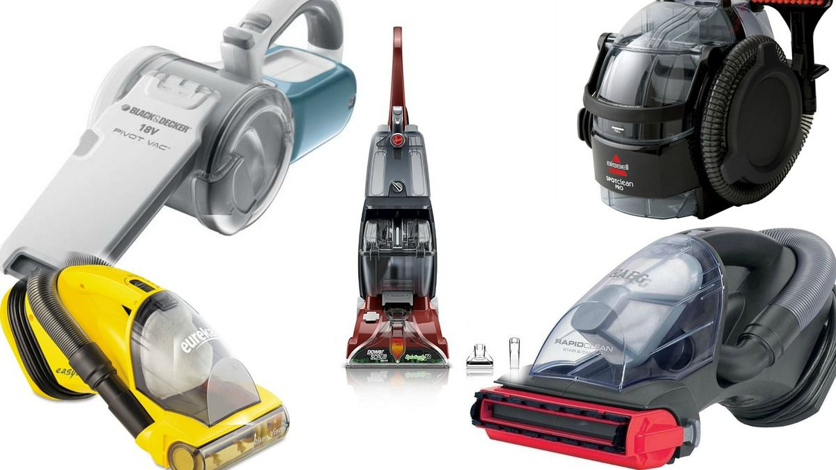 Best Cordless Handheld Vacuums Most Powerful Portable Mini