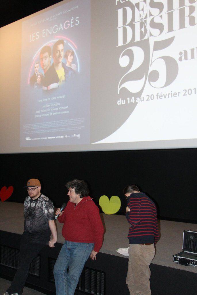 Tours: projection des Engagés au festival LGBT Désir Désirs