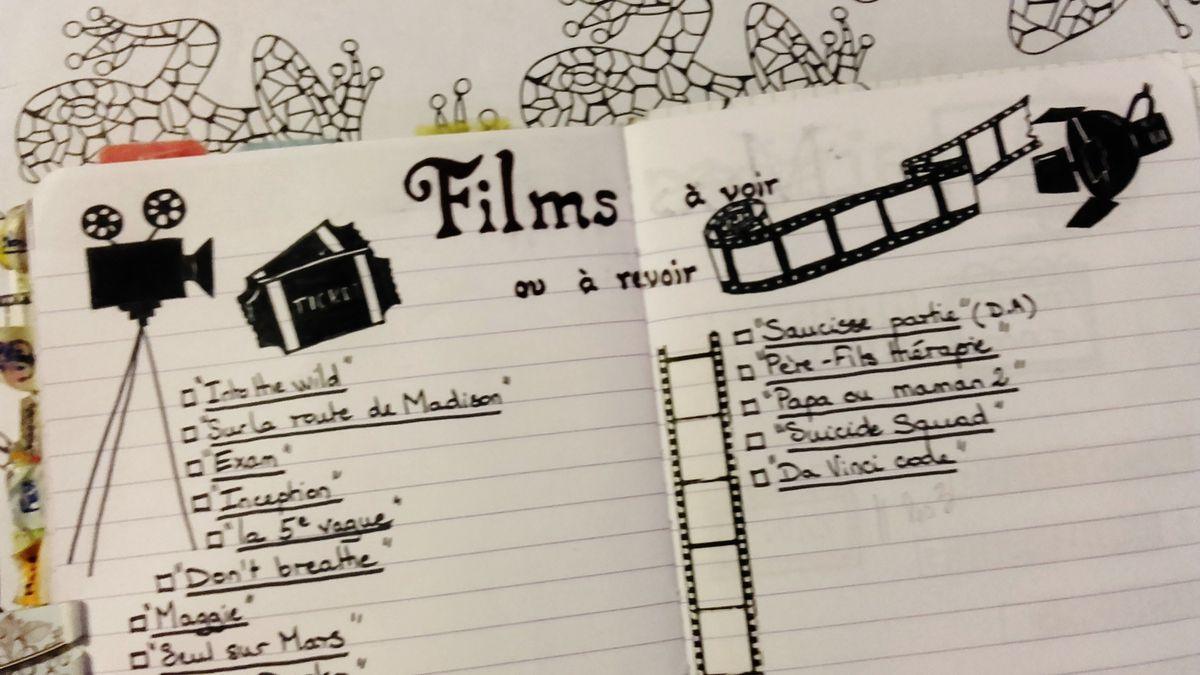 Films à voir ou revoir 3 - Tiph's Bullet Journal