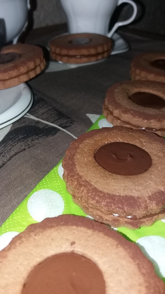 SABLES CHOCOLATES au nutella