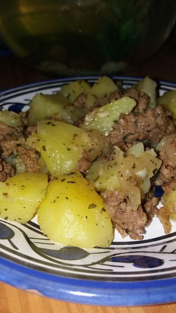 Un plat savoureux avec des pommes de terres fondantes...
