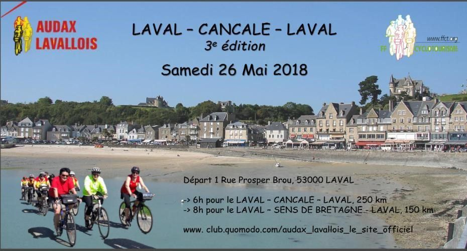 Rando Laval-Cancale-Laval le 26 Mai 2018