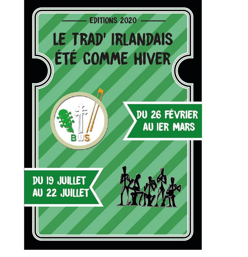 Partenariat entre le Brittany Winter School et les Rencontres Musicales Irlandaises