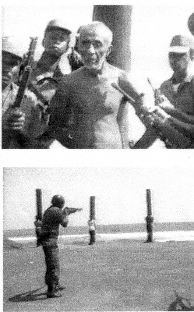 """Monrovia 1980. Le sergent-chef """"indigène"""" Samuel Doe fait fusiller 30 membres du gouvernement des descendants des colons d'Amérique sur la plage de Monrovia où ils avaient débarqué pour la première fois en 1822."""