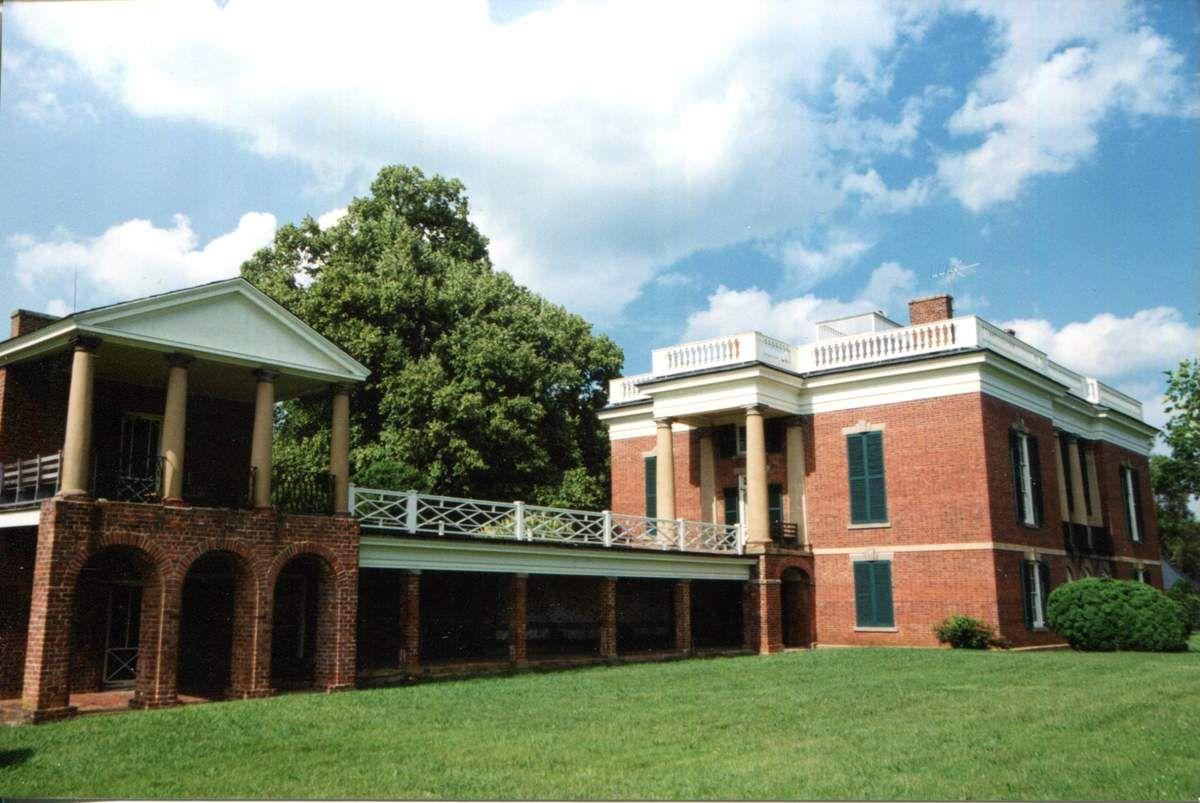 Le bâtiment central / La maison d'esclave des Skipwith proche de la maison des maîtres / La salle de classe où les esclaves étaient éduqués / Le séchoir