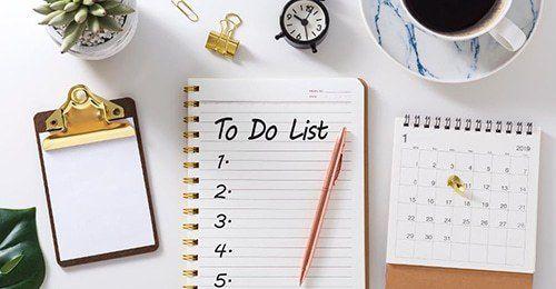 10 choses à faire le dimanche pour une semaine organisée