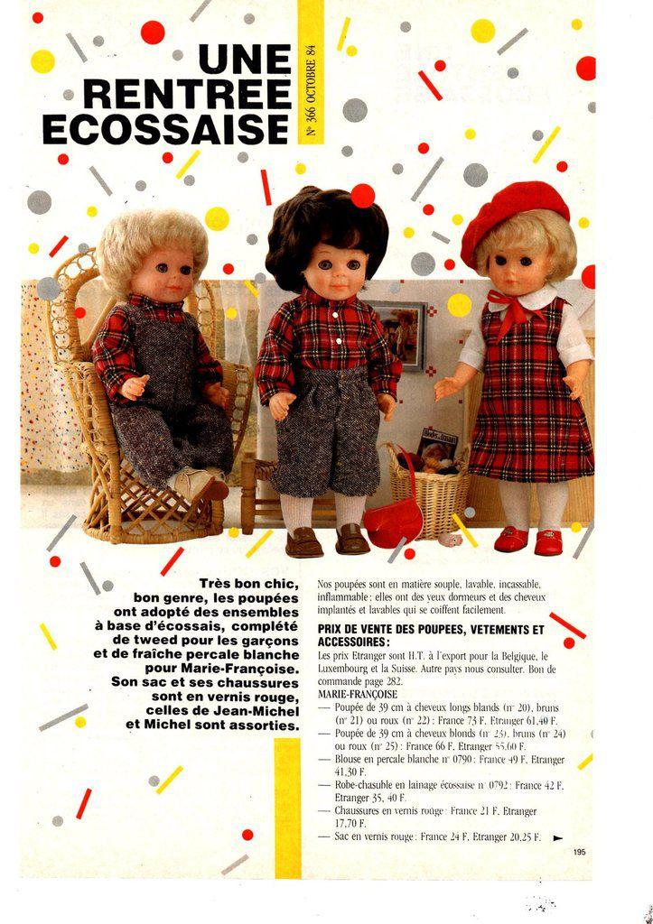 Colin et la tenue d'octobre 1984