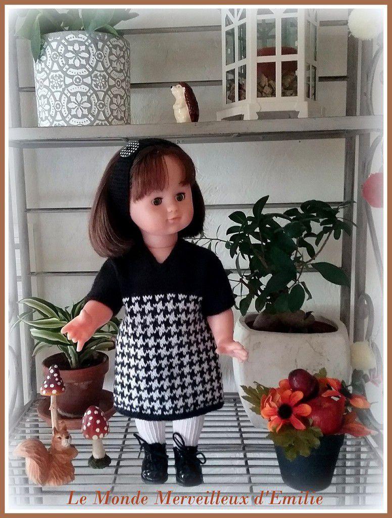 Robe tricotée pour Emilie Lise
