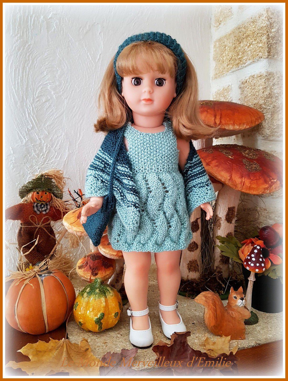 Ensembles Tricot poupées