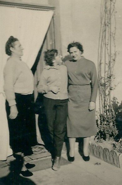 Odette Sylvestre ; Mireille Sylvestre