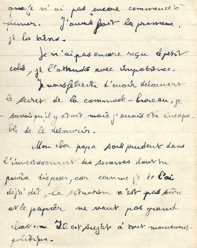 Albert Jarlier Lettre n°2 du 19 mai 1942 p5