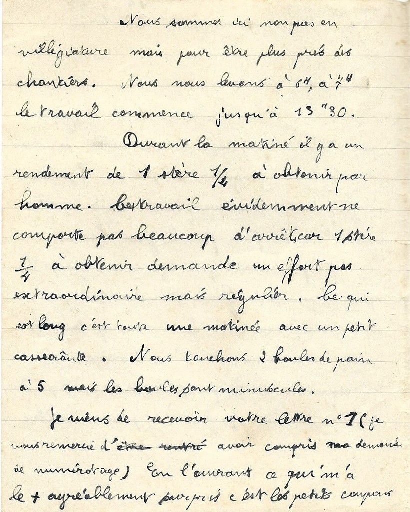 Albert Jarlier Lettre du 19 mai 1942 page 2