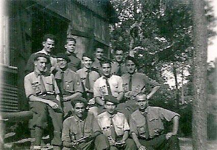 JARLIER Albert Chantier de jeunesse Landes 1942 groupement Pol Lapeyre 47