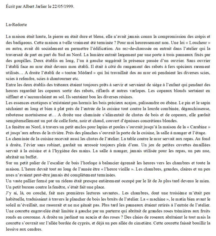 La-Redorte Ardanuy Irma Médard